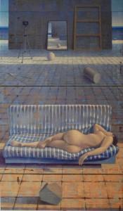 Giuseppe Modica, Nell'Atelier,trittico, 2000, 2012-2