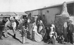 Contadini di Tunisia, 1906