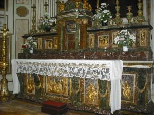 Chiesa di S.Caterina - Altare - Mazara del Vallo