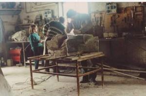 La fonderia Calcagno