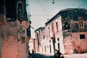 Naxxar,via santa Lucia, 1965 (foto Boissevain)