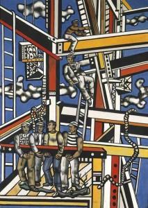 Fernand Legèr,Les constructeurs,1950