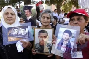 scomparsi nelle prigioni siriane
