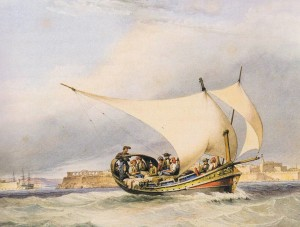 Speronara maltese (primi 800)