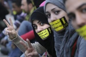 Donne a Il Cairo