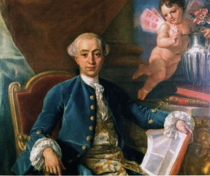 3. Giacomo Casanova by Anton Raphael Mengs