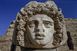 Leptis Magna, Gorgone  del foro Severiano
