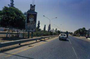 raccordo autostradale nei pressi di Tripoli
