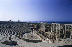 Leptis il teatro romano