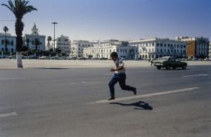 Tripoli,  piazza Verde, oggi dei Martiri (foto Pitrone)