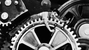 Chaplin:Tempi moderni
