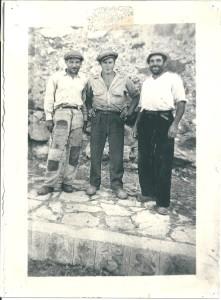 Bolognetta, 1947. Al centro, Antonino Castelbuono