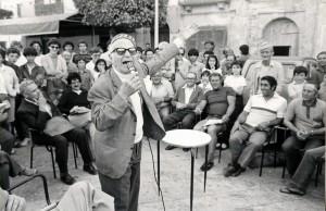 Ignazio Buttitta, Favignana 1985