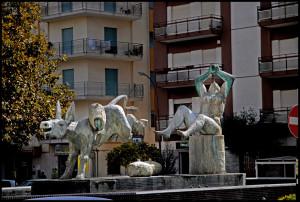 Marsala, fontana di Fiume ( foto  Ingrasciotta)