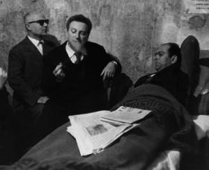 Ignazio Buttitta, Carlo Levi e Danilo Dolci, 1957