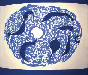 Blu Concentrico, 1960