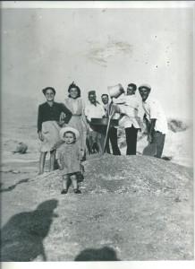 Bolognetta 1952. Famiglia a Castelbuono