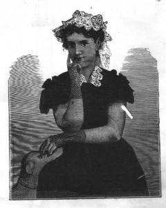 Maria Carolina d'Austria (illustrazione tratta dall'edizione italiana del romanzo di Didier - Medicina 1885)