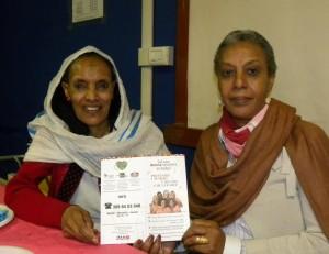 Festa con le donne eritree