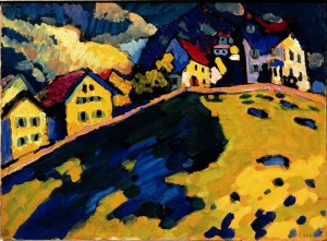 V. Kandinskij, Paesaggio 1909