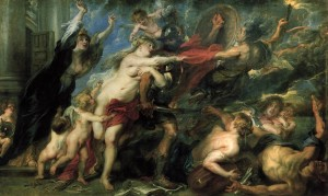 Rubens, Le conseguenze della guerra,1638