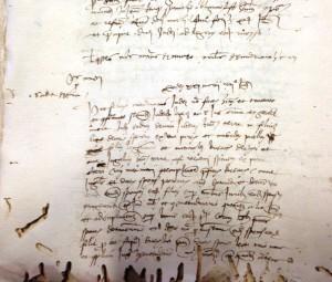 Contratto Matrimoniale dell'anno 1474, tra Sadia de Vita e Misuda de Crixi