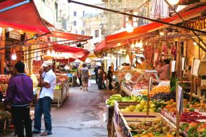 mercato Ballarò,Palermo