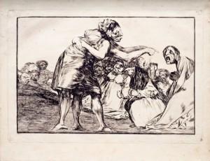 Francisco de Goya, Disordely folly, 1815-1819