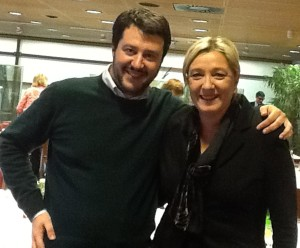 Europee: incontro Salvini-Le Pen per strategia comune