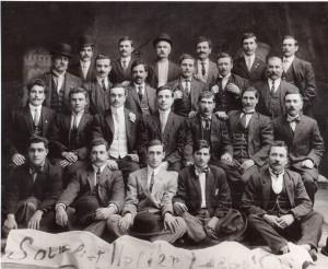 Gruppo di emigrati siciliani nella sezione socialista di Brooklin (1910)