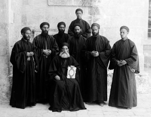 Monaci copti 1898 (foto Dept)