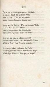 Una pagina della prima edizione de I Sonetti (1923)