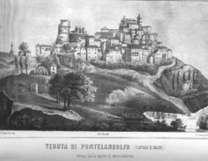 Litografia di Pontelandolfo,,1850-Elgildo