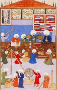 Miniatura ottomana, osservatorio Ins(1)