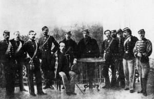 Il generale Cialdini e lo Stato Maggiore