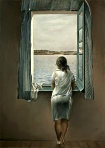 Salvatore Dalì, Ragazza alla finestra, 1925