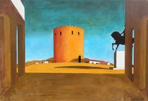 De Chirico, Torre rossa, 1913