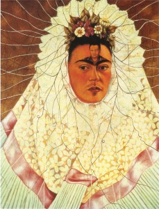 Frida Kahlo, autoritratto