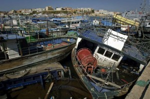 Relitti di naufragi, a Lampedusa