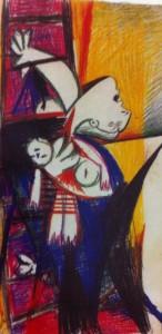 Picasso, Madre con bambino, 1939