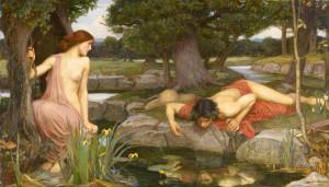 Eco e Narciso, di John William Waterhouse, 1903