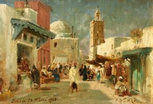 Nelle strade di Susa, di C. Wuttke, 1913,