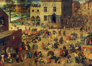 P. Brueghel - Giochi di bambini (1560)