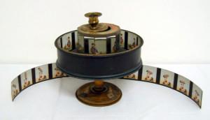 Prassinoscopio - strumento ottico (Francia, 1895)