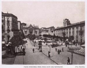 Una veduta di Catania (inizio Novecento)