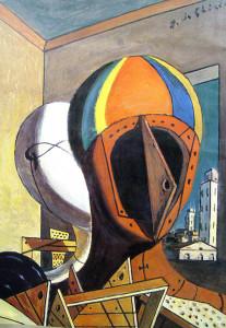 De Chirico Le maschere, 1973