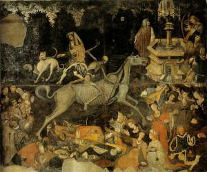 Copertina Trionfo della morte, affresco