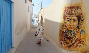 murales a Djerba, Tunisia