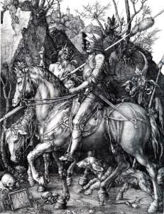 Durer,Il cavaliere,la morte e
