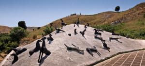Montagna di sale di Mimmo Paladino